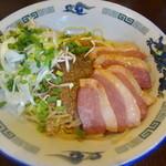 しんがり - 冷やしまぜ麺 細麺 小 700円