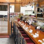 つきぢ神楽寿司 - カウンター 10席