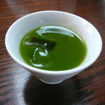 20628326 - サービスの冷茶も美味しいです^^