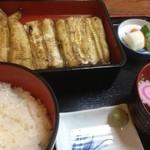 いし川 - 白焼き定食 梅