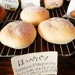 ホッペパン - お店のなまえと おなじパン