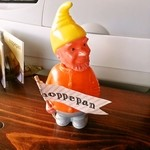ホッペパン - オレンジの オッサン、笑
