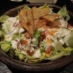 20630863 - カリカリベーコンと夏野菜のシーザーサラダ