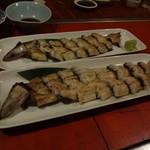 魚圓 - 鰻の白焼き