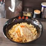 春日亭  - 鳥豚油そば(¥630・並盛)