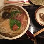 四ツ谷胡桃屋 - 紀州梅わかうどん並700円全景