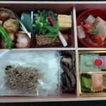 川畑 - 【2013年5月】2,500円のお弁当全景