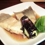 魚処やつはし - おすすめコースの煮物