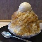 Kikumaru - キャラメル黒糖かき氷