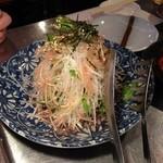 薬膳もつ鍋 ホルモンはなけん - サラダ コース料理2000円