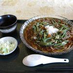 20638870 - 冷たい山菜そば(500円)