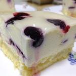 ラファン - 赤い果実のレアチーズケーキ:900円('13.07月)