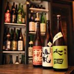 和醸良酒 ○たけ - 料理写真:イケてる地酒たちは常時140種類以上