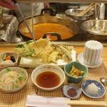 懐 - その場で揚げたての天ぷらがいただけるランチに感動!!!