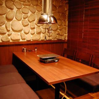 個室充実の凛とした空間◇多彩な席タイプで様々なシーンに対応