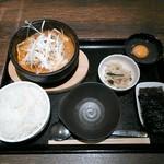 20652852 - 豚スンドゥブ定食¥700