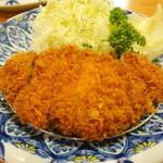 ふみぜん - ロースカツ定食 1,730円