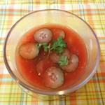 ミチス - スイカとトマトの冷製スープ
