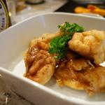 ワカヤマ - 鶏の塩唐揚げ\580