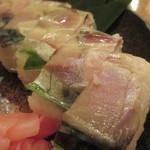 魚金 - 580円『鯖のバッテラ』2013年8月吉日