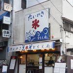 ともえ庵  - 中野駅南口から5分ほど。大きな看板が目印です。