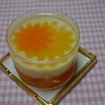 マールブランシュ  - オレンジ・ダリア