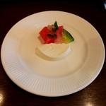 マルベリー - デザート(パンナコッタ)