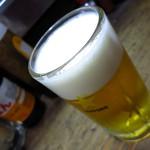 やきとり どん - 生ビール450円