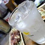 やきとり どん - レモンサワー320円