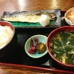 mihashiya - 鯖定食!