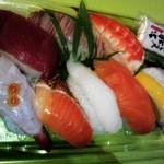グリグラ - レモンと塩で食べるお寿司です