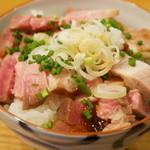麺屋KABOちゃん - チャーシュウごはん(300円)