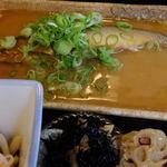 きらく九兵衛 - あゆ味噌煮定食:1400円(鮎味噌煮)