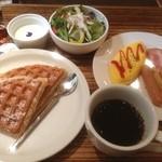 20660114 - 金沢の朝はカフェにモーニングセット