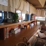 いとう食堂 - カウンター席