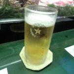 松栄寿司 - 生ビール