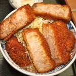 たけだ - ジャンボソースカツ丼(250g)  柔らかくて美味しい