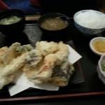 三々亭 - 天婦羅定食