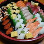 味ぎん - 料理写真:まんぷく握り(4人前)