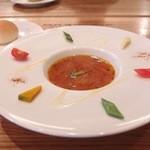ビストロ K 中目黒 - スープ ド ポワソン