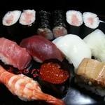寿司・懐石處 やなぎ - 握り寿司