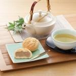 勝原白貫堂 - 料理写真:壬生饅頭 冷茶セット