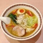 ラーメン まるいし - スパイシー塩ラーメン(700円)