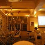 レストラン カフェ ショコラ - 白い空間