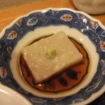 しこう庵 - 蕎麦豆腐