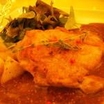 レストラン カフェ ショコラ - 鶏もも肉マスタードソース