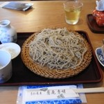 蕎庵 秀明 - いつものとおり普通盛りです。