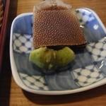蕎庵 秀明 - 珍しい本山葵がでできます。