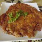 タイ料理研究所 - 他のお客さんのタイ風オムレツ