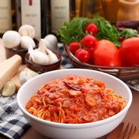 カプリチョーザ JR岡山駅店 - トマトとニンニクのスパゲティ